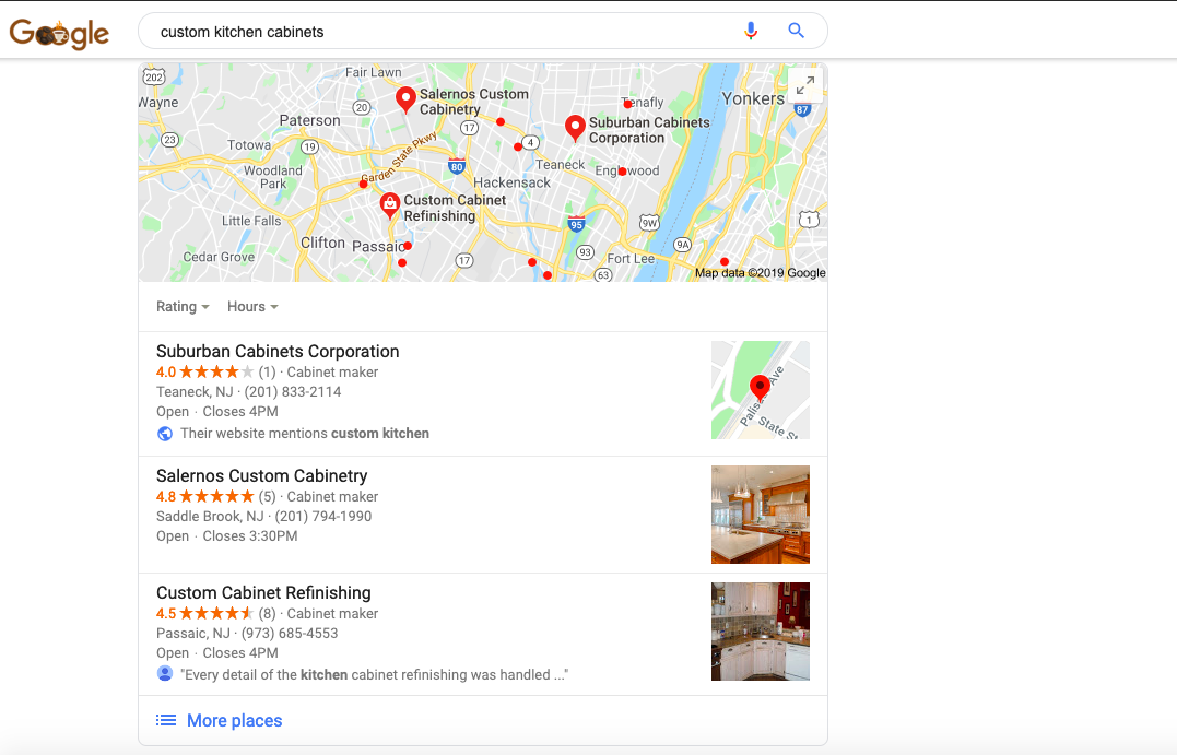 Google Local Listings